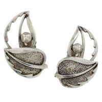 Vintage Sarah Coventry Leaf Clip On Earrings vintage