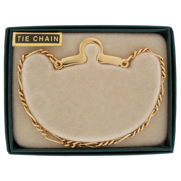 Gold Tie Chains for Men