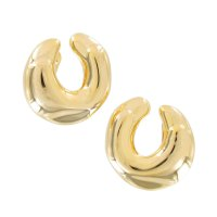 Statement Horseshoe Gold Tone