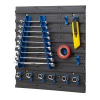 Louvre Panel Tool Rack Kits Garage Storage Shelving Tool ...