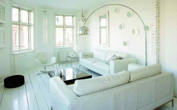 Departamentos pequeos decoracin de interiores en blanco