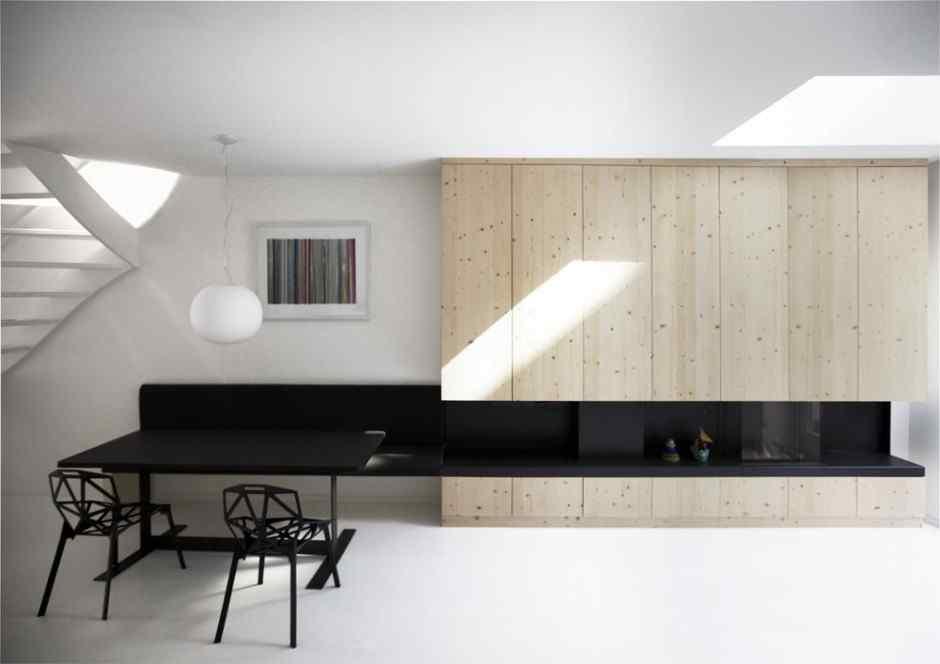 Departamentos minimalistas Home 08 por el estudio i29