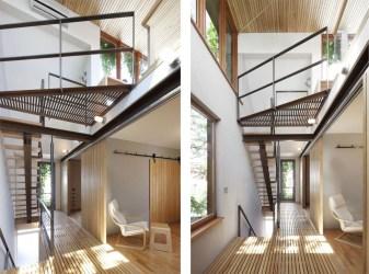 loft bernier thibault apartamentos casa tipo altura doble paul urbana moderna arquitectura interior homedsgn montreal via son estilosdeco