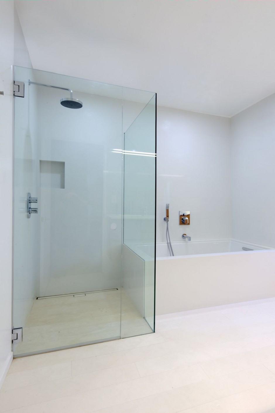 Casa moderna minimalista en California  Interiores