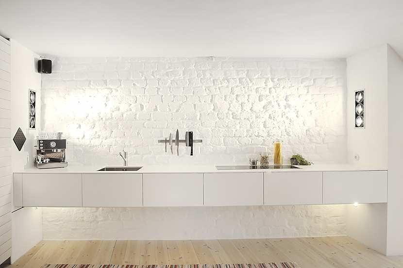 Monoambiente con decoracin moderna y escandinava