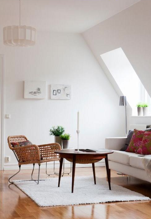 Decoracin de departamentos modernos estilo escandinavo en Malm