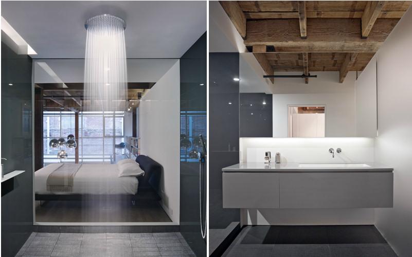 Interiores modernos Oriental Warehouse Loft  Lofts modernos