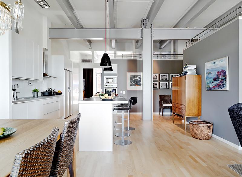 Departamento de 3 ambientes estilo loft