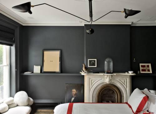 Interiores de casas hogar clsico y moderno en Brooklyn