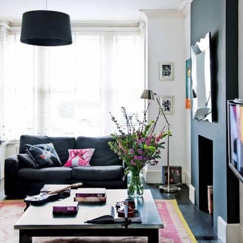 Diseo de interiores modernos en una casa victoriana