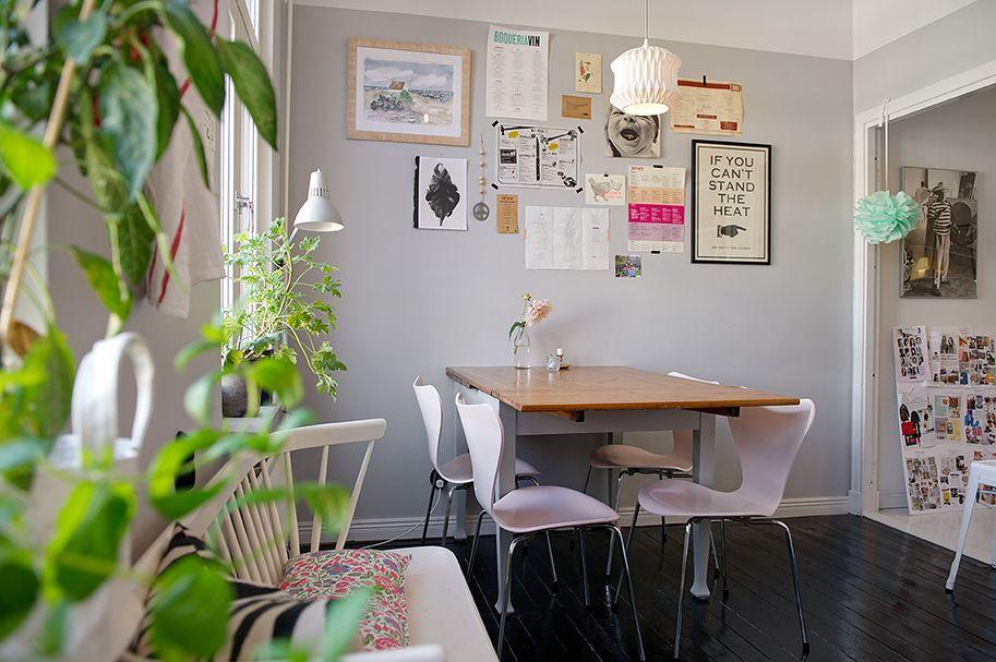Departamento de 2 ambientes lleno de detalles y acentos de color