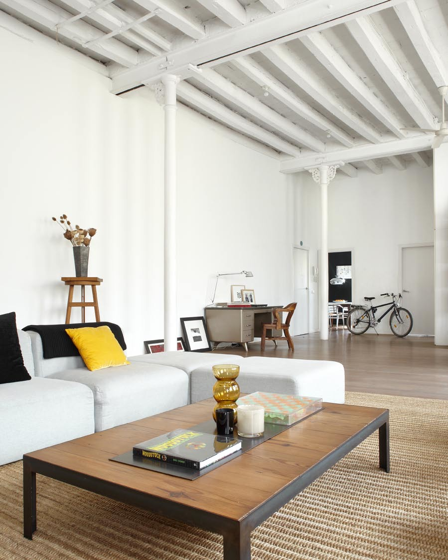Un autntico loft que combina lo moderno con lo industrial
