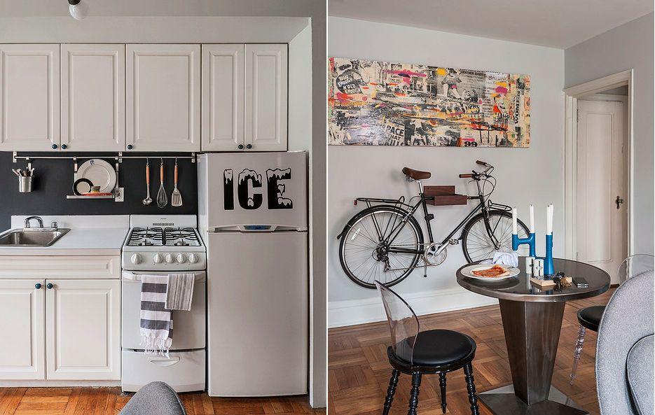 Decoraci n de un departamento peque o de 2 ambientes for Cocinas para departamentos pequenos