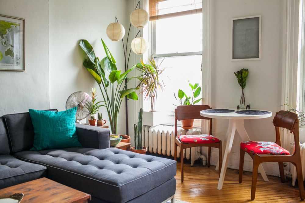 Departamento de 2 ambientes y medio en estilo vintage