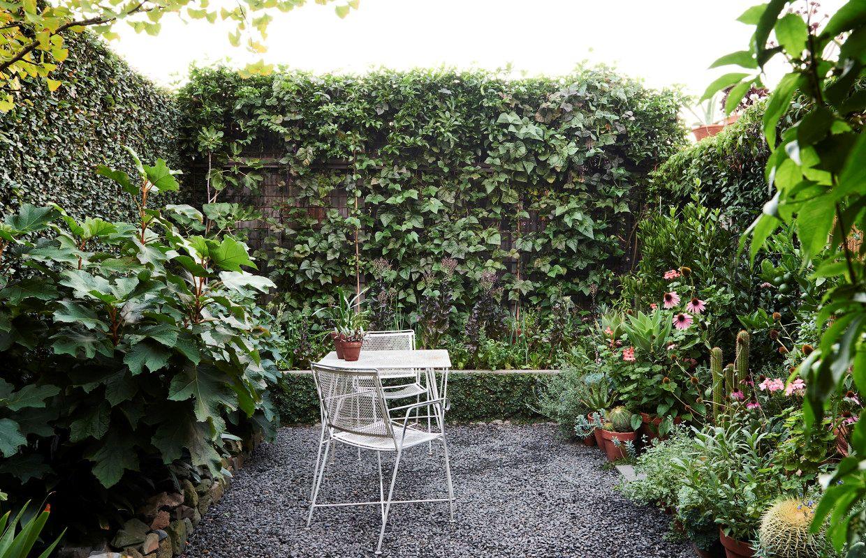Diseo de jardines un jardn pequeo y frondoso de 24 metros