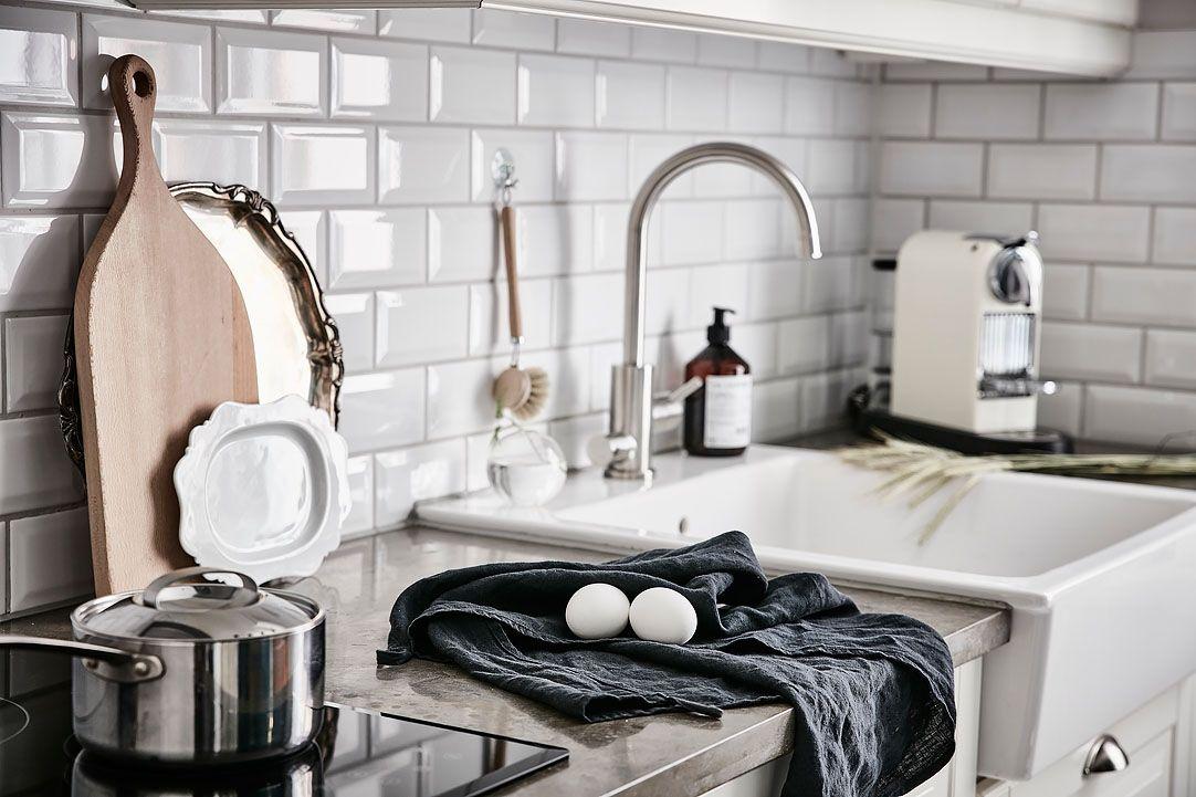 Cocinas con mesadas de microcemento alisado  Estilos Deco