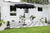 Renovar los pisos de un patio con pintura   Estilos Deco