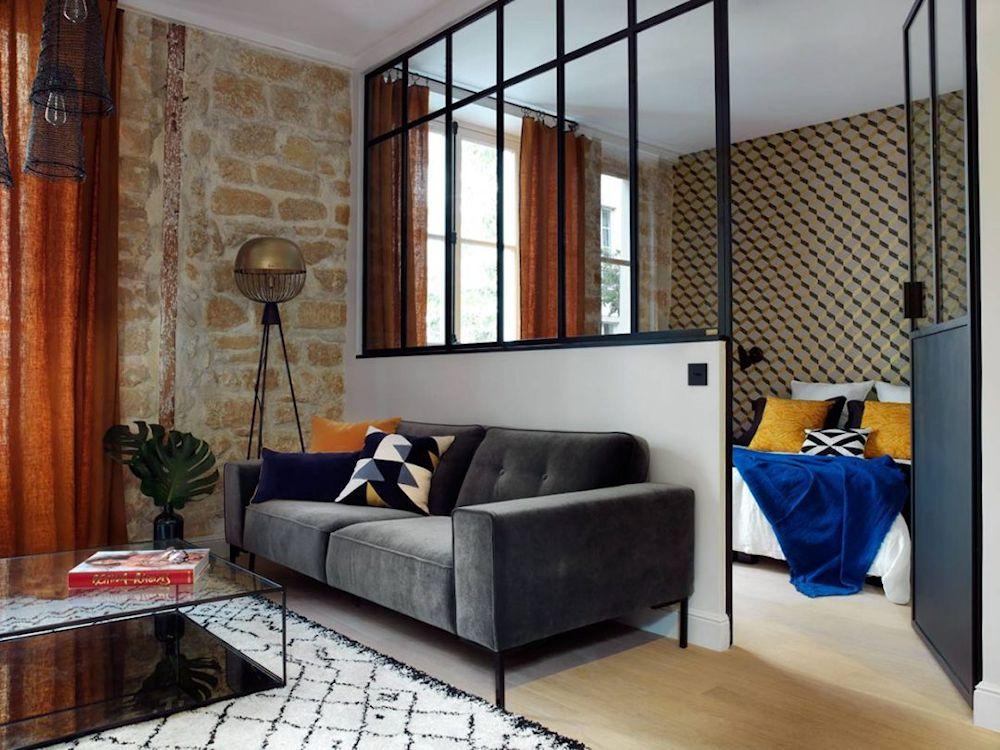 De monoambiente a 2 ambientes departamento en estilo loft