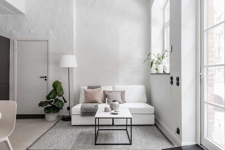 Decoracin minimalista en un dplex pequeo  Estilos Deco