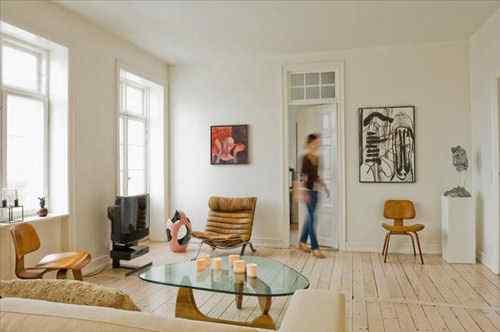 Estilo nrdico apartamento en Copenhague  Decoracin