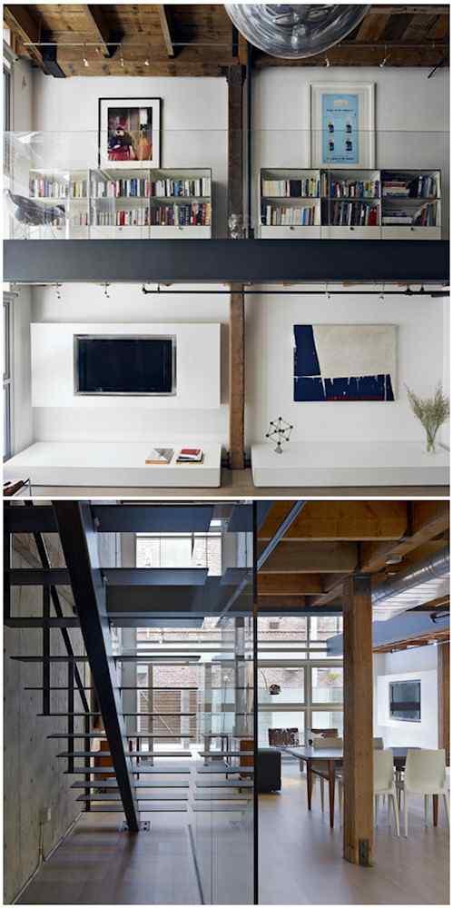Interiores loft moderno