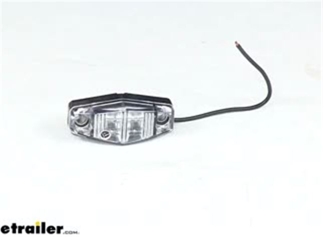 Optronics Mini Red LED Clearance or Side Marker Light