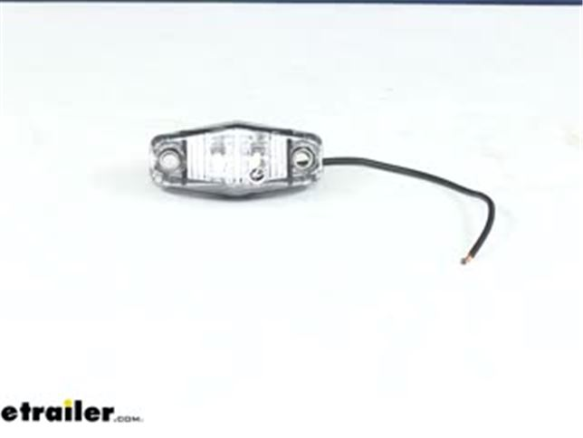 Optronics Mini Amber LED Clearance or Side Marker Light