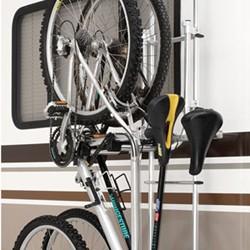 surco 2 bike carrier for vans and rvs ladder mount