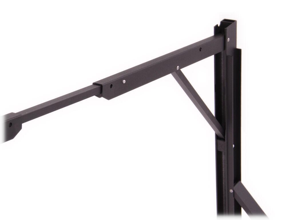 invis a rack folding ladder rack black powder coated aluminum 500 lbs deezee ladder racks dz951600