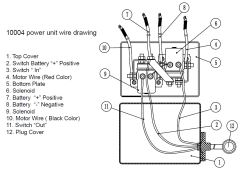 Wiring Diagram for the Bulldog Winch 1.87 hp Standard
