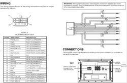 Wiring Jensen RV Stereo # JWM60A to Replace Jensen AWM968