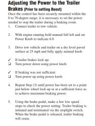 How to Set the Tekonsha Voyager Electric Brake Controller