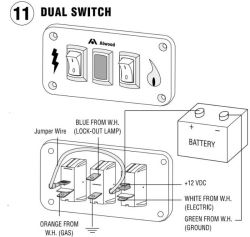Troubleshooting Middle Light on Double-Panel On/Off Switch