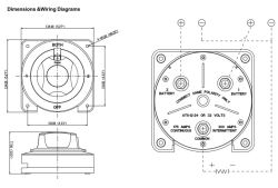 Wiring Diagram for Seaflo Battery Selector Switch