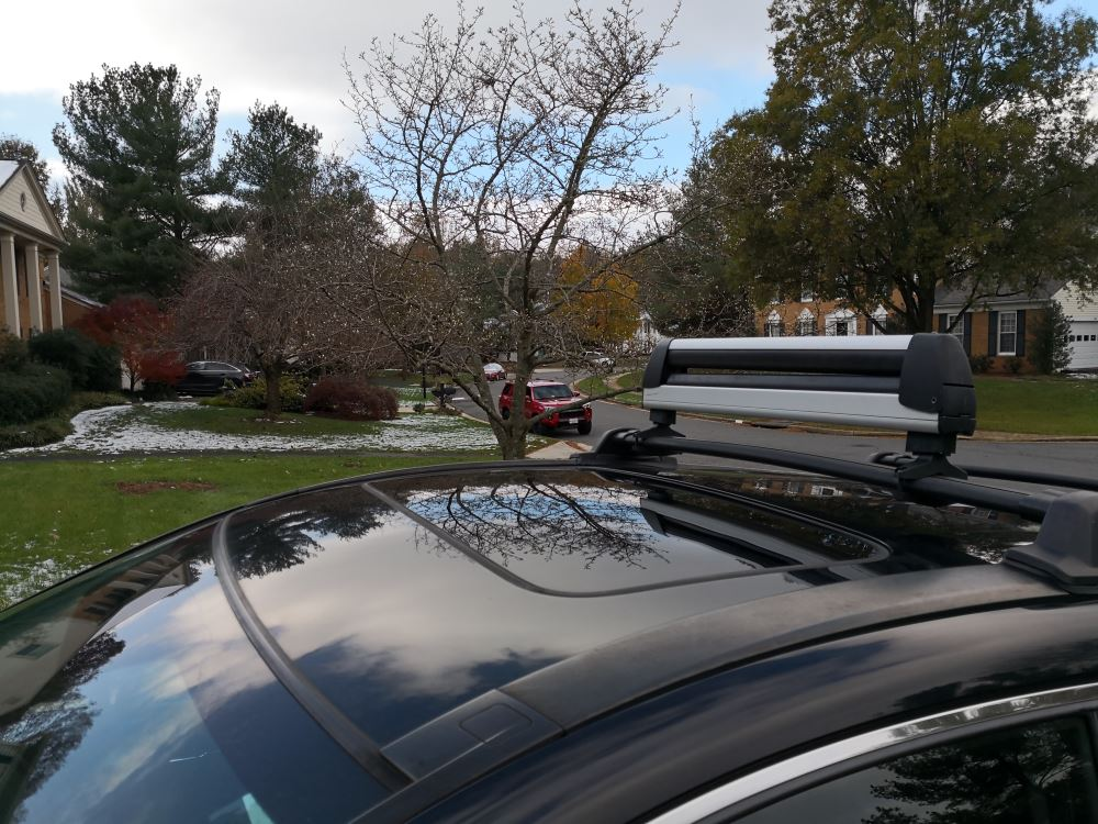 mounting kit for thule flat top rooftop
