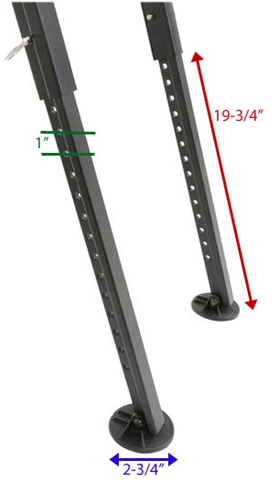 folding ladder for rhino rack pioneer