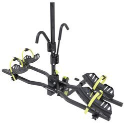 swagman current bike rack for 2 electric bikes 1 1 4 and 2 hitches frame mount