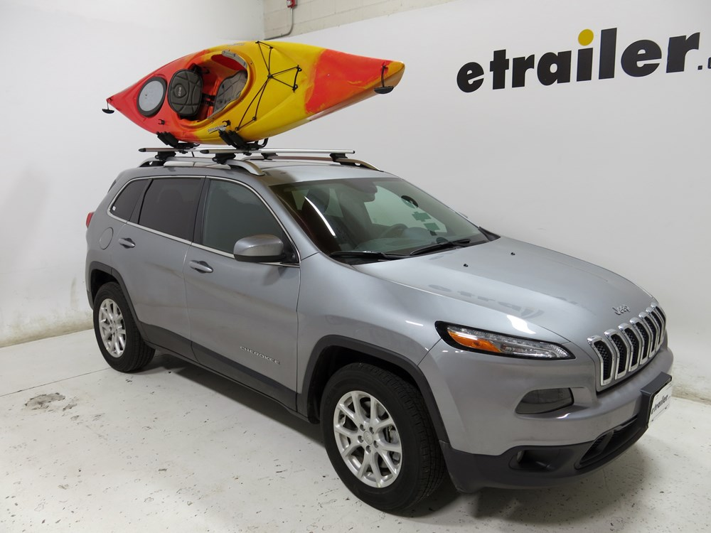 sportrack kayak carrier with tie downs