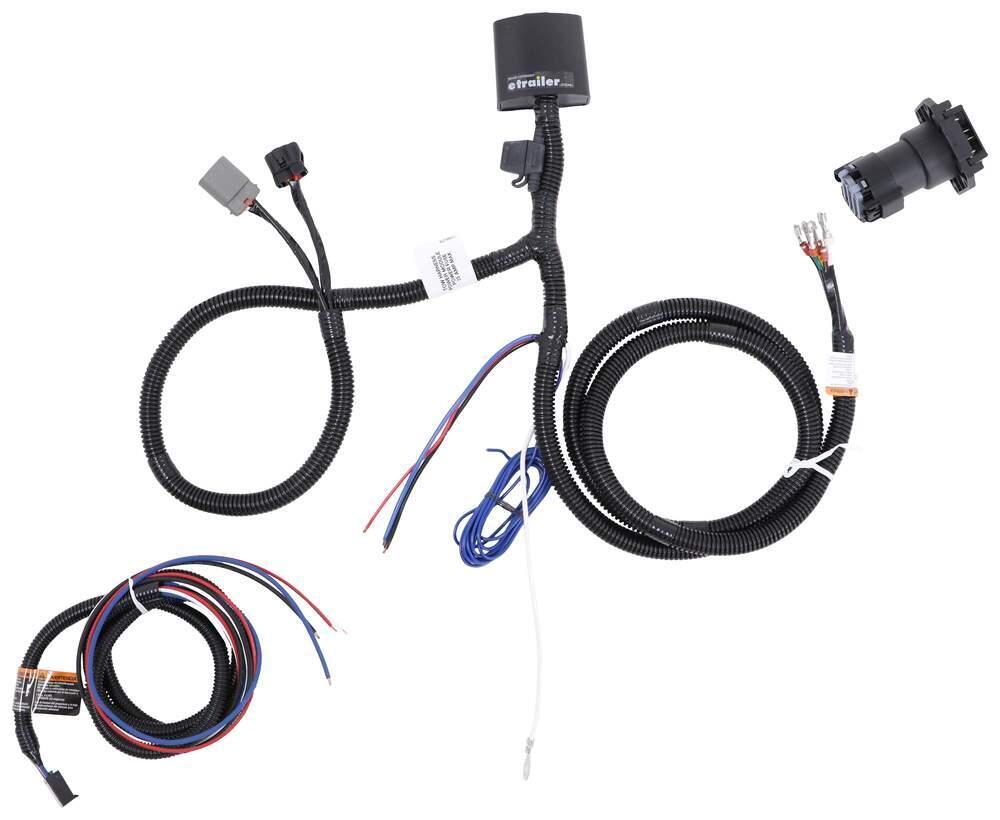 Tekonsha OEM Replacement Vehicle Wiring Harness w Brake