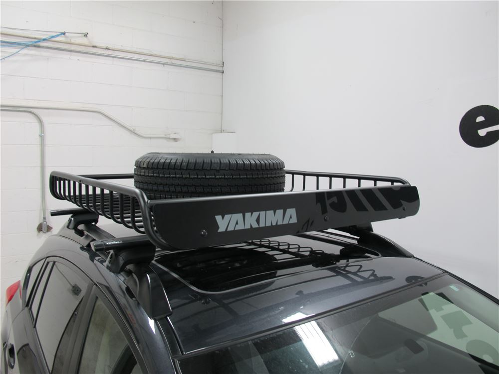 spare tire carrier for yakima roof