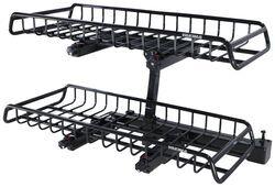 hitch mounted ski rack etrailer com