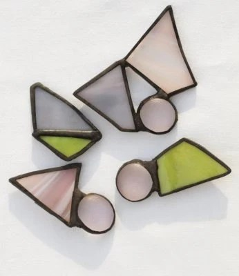 Artsy  Stained Glass Magnets