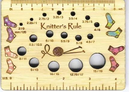 Sock Knitter's Rule