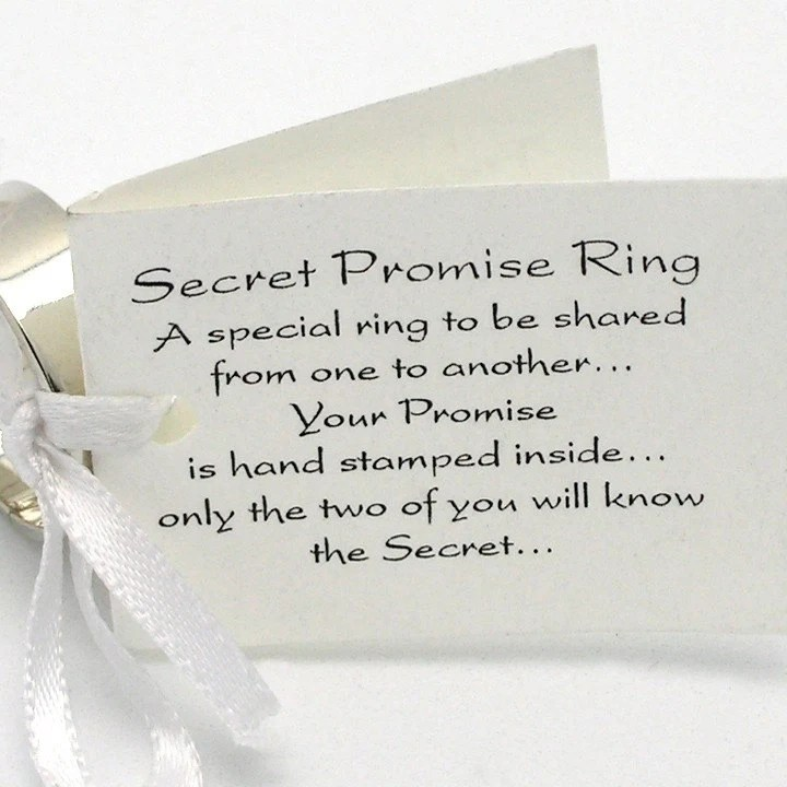 Secret Promise Ring