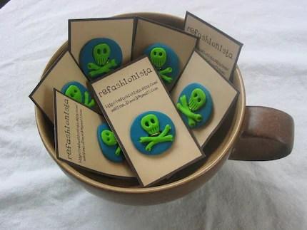 Jolly Roger Buttons