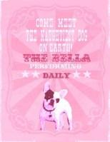 Vinatge French Bulldog Gig Poster
