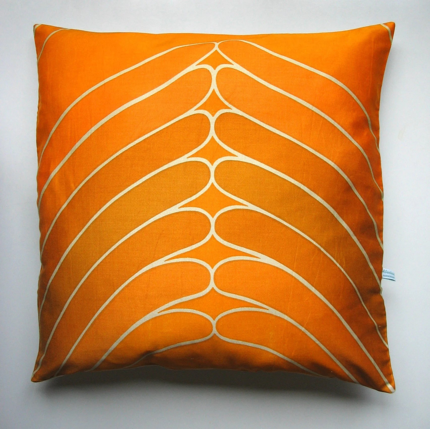 Secret Handshake Pillow-cover, vintage fabric