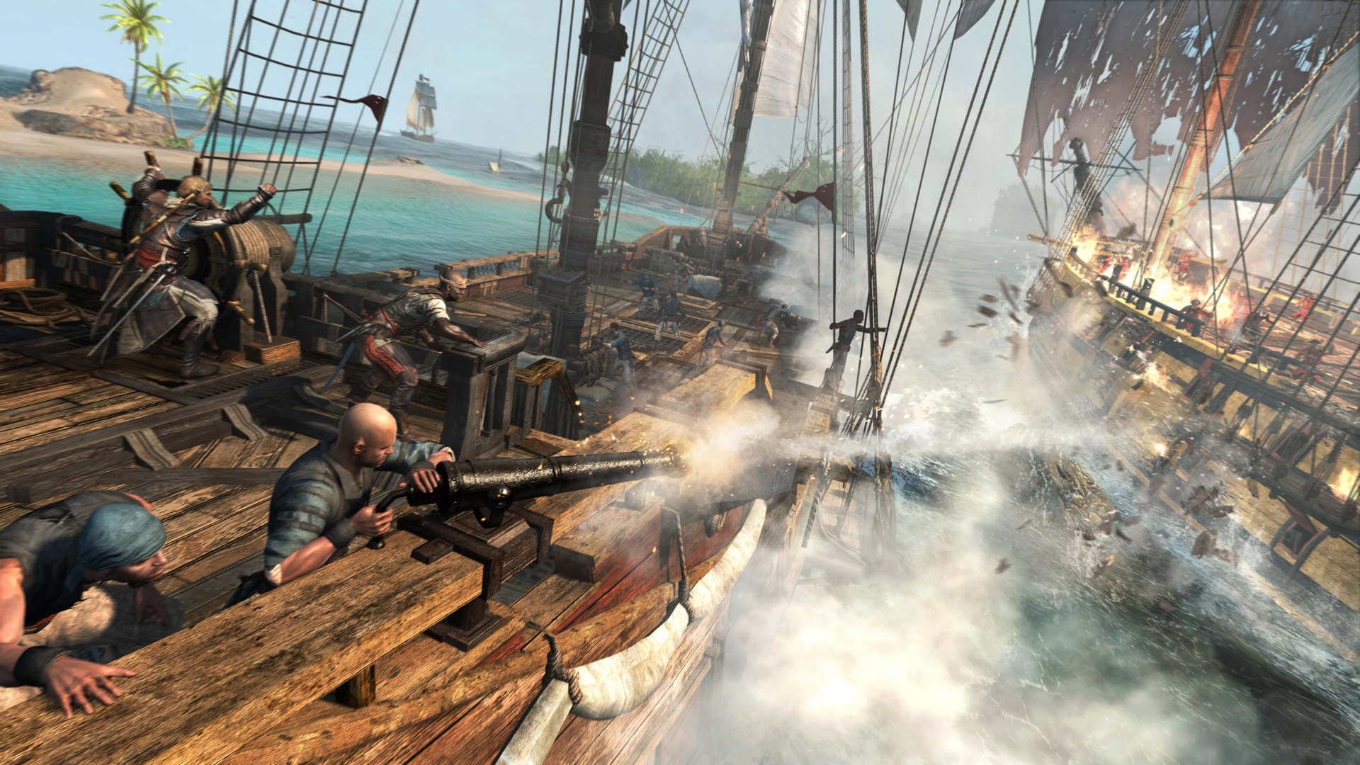 €�there's A Great Balance And Zip To The Way You Pinwheel Around The Game's  Vast Oceans, Stripping Treasure Maps From Corpses And Sailing To Their