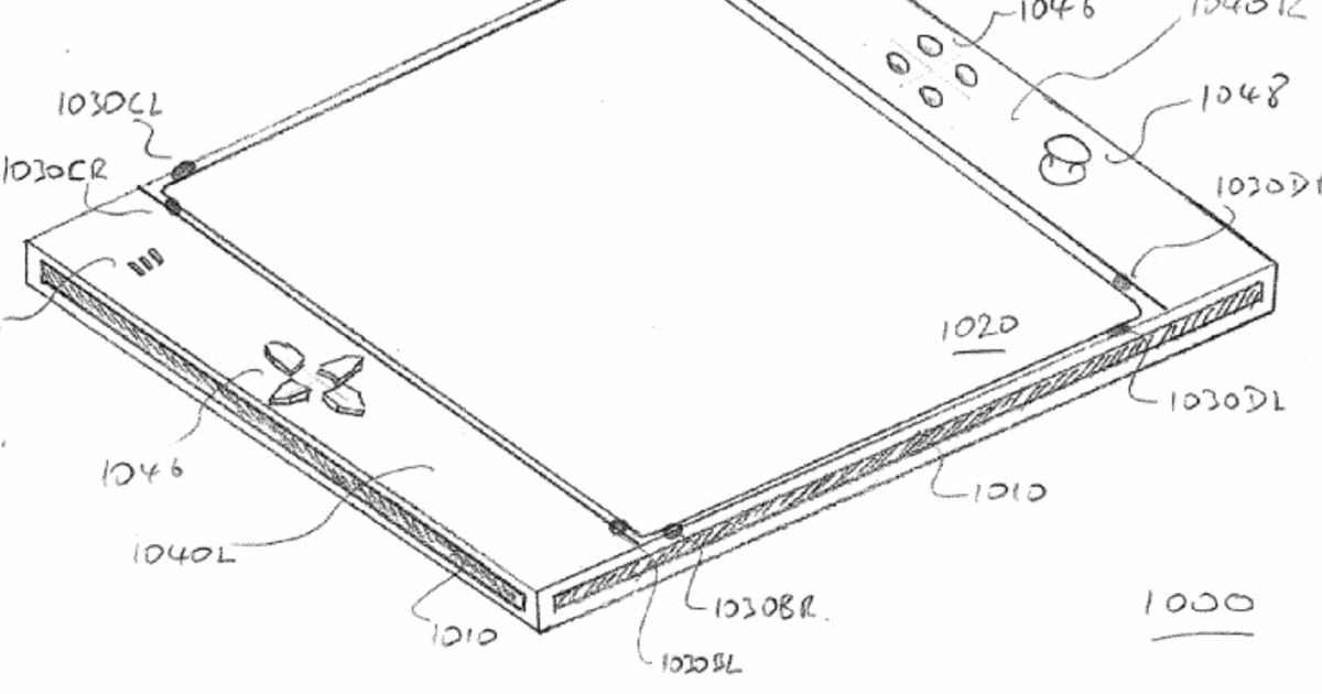 Sony patents an EyePad gaming tablet for use with a