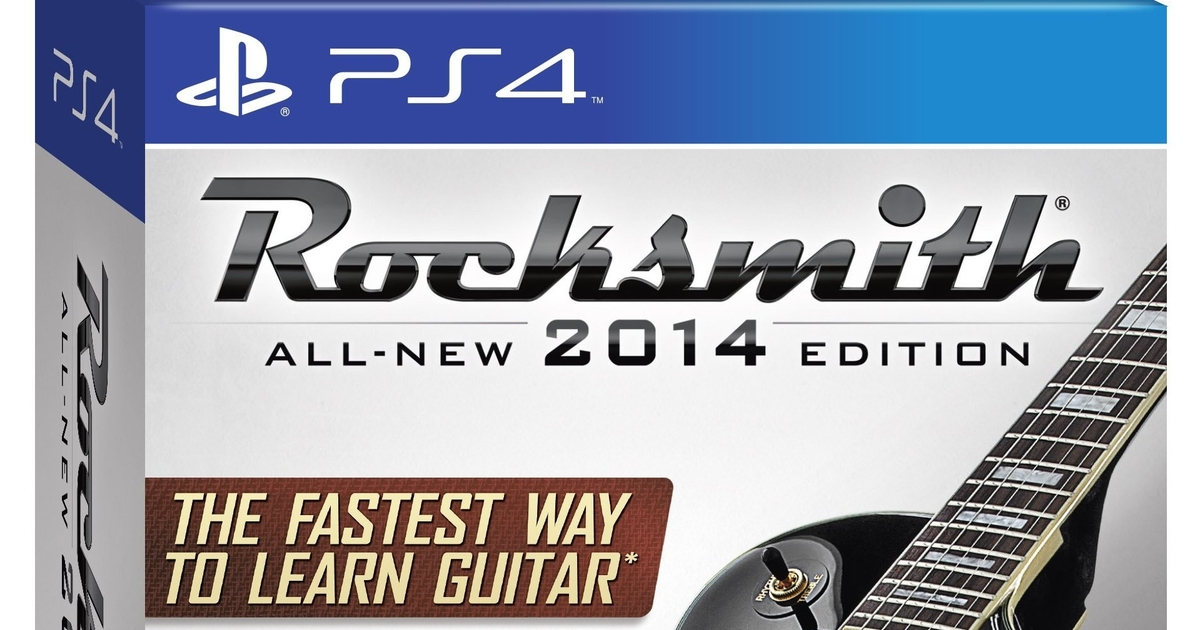 Rocksmith 2014 Edition PlayStation 4 And Xbox One Release